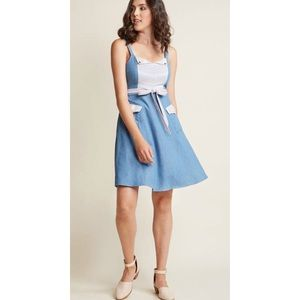 MODCLOTH denim style A line dress